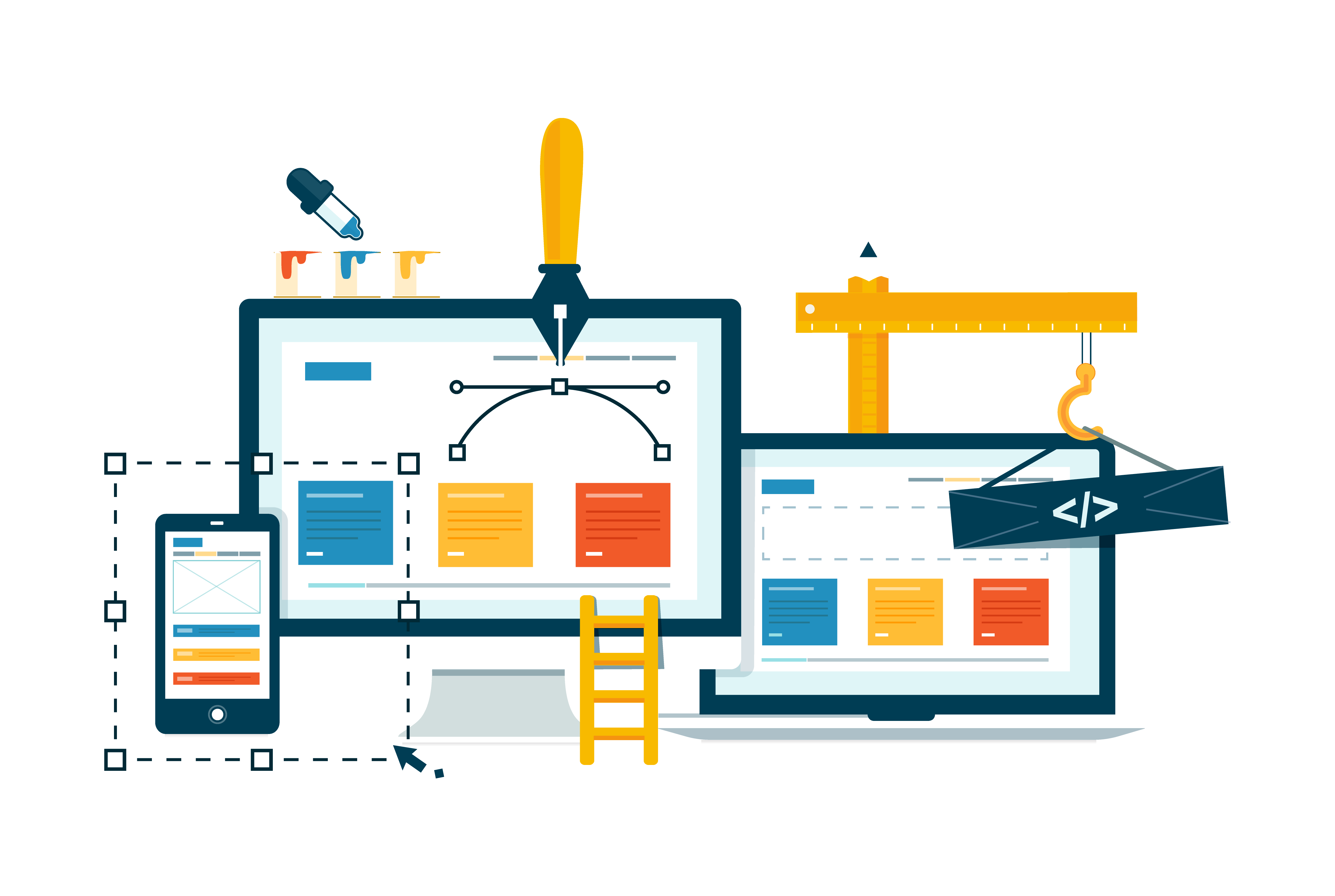 CSS Responsive Navbar With HTML & JavaScript   Dropdown Menu