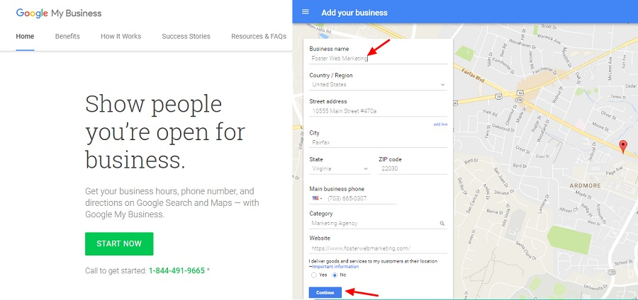Claiming Google Local Dashboard